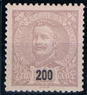 Portugal, 1895/6, # 137, MH - 1892-1898 : D.Carlos I