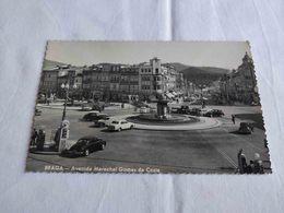ANTIQUE PHOTO POSTCARD PORTUGAL BRAGA - AVENIDA MARECHAL GOMES DA COSTA UNUSED - Braga