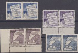 Chile 1955 Antarctica 4v (pair) ** Mnh (42021) - Chili
