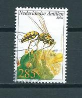 2002 Netherlands Antilles Wesp 285 Cent Used/gebruikt/oblitere - Curacao, Netherlands Antilles, Aruba