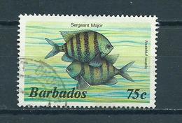 1985 Barbados Fish,vis,fische Used/gebruikt/oblitere - Barbados (1966-...)