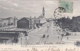 CARTOLINA - POSTCARD - BRASILE -São PAULO - VISTA GERAL DA ESTACãO DA LUZ S. P. R. São PAULO - São Paulo