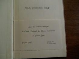 Oud Boek1947  Pour  DEMEURER  FORT   Du Comité UNIV.  Des Un.  Chrétiennes  De Jeunes GENS   Genéve - 1939-45