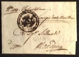 1813 SENIGALLIA PER MONDAVIO - Italy