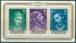 AITUTAKI  - MNH/** - 1981 - PAQUES EASTER - Yv BLOC 32 - Lot 19070 - Aitutaki