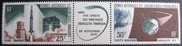 R1949/90 - 1966 - FUSEE DIAMANT / SATELLITE A1 - TAAF - TRIPTYQUE N°11A NEUF** POSTE AERIENNE - Tierras Australes Y Antárticas Francesas (TAAF)