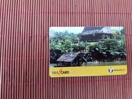 Fuji Prepaidcard Used  2 Scans  Rare - Fiji