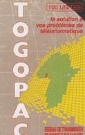Togo - Togopac (chip On Reverse) - Togo