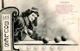 Jeux : Les Boules - Cartes Postales