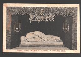 Ricordo Delle Catacombe Di S. Callisto - La Tomba Di S. Cecilia - Sculptures