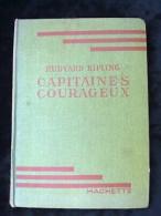 Rudyard Kipling: Capitaines Courageux/ Hachette, Bibliothèque Verte, 1947 - Books, Magazines, Comics