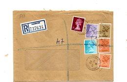 LAB573 - GRAN BRETAGNA , Raccomandata Per L'Italia Del 1980 - 1952-.... (Elisabetta II)