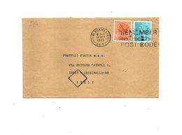 LAB574 - GRAN BRETAGNA , Raccomandata Per L'Italia Del 1979 - 1952-.... (Elisabetta II)