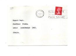 LAB576 - GRAN BRETAGNA , Raccomandata Per L'Italia Del 1979 - 1952-.... (Elisabetta II)