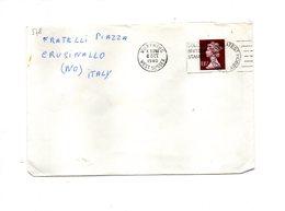LAB578 - GRAN BRETAGNA , Lettera Per L'Italia Del 1980 - 1952-.... (Elisabetta II)