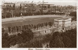 MILANO - ARENA STADIO CIVICO STADIUM STADION STADE ESTADIO - ANNULLO TARGHETTA - VG 1940 - Calcio