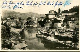 006688  Mostar - Stadtansicht Mit Brücke  1957 - Bosnien-Herzegowina