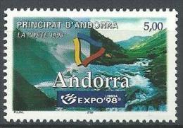 "Andorre YT 505 "" Expo Universelle à Lisbonne "" 1998 Neuf** - Neufs"