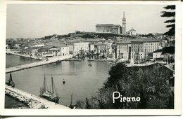 006692  Pirano - Ansicht Mit Hafen  1937 - Slovenia