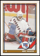 NEW YORK RANGERS - Mike Richter 91, O-Pee-Chee (NYR217) - 1990-1999