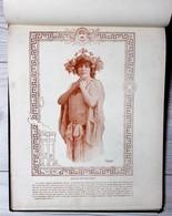 Livre Nos Jolies Actrices Photographiées Par Reutlinger Ludovic Baschet Sarah Bernhardt Cléo De Mérode - Books, Magazines, Comics
