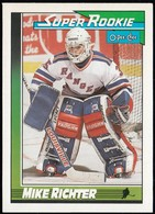 NEW YORK RANGERS - Mike Richter 11, O-Pee-Chee (NYR218) - Rookies