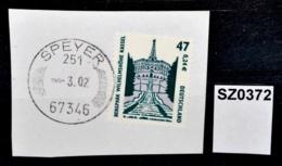 SZ0372 Stempel Ohne Jahresangabe, 67343 Speyer 251 DE ???? - [7] Repubblica Federale