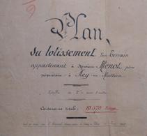 Plan De Construction - M. Menot à Acy En Multien - Parcelle Au Champ Du Repos à Crépy En Valois Dans L'Oise - Architecture