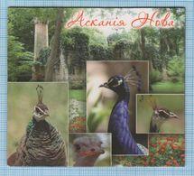 UKRAINE / Flexible Magnet / Fauna. Birds. Reserve Askania-Nova. - Animaux & Faune