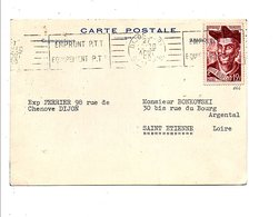 N°866 SEUL SUR LETTRE DU 27/08/50 - Storia Postale