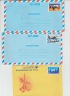 Entier Postal N°1013,aérogramme Par Avion - Postal Stamped Stationery