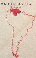 TEMATICA ALBERGHI  VENEZUELA  - U.S.A. ENVELOPE HOTEL AVILA  CARACAS  TO INDIANA  THE 21/5/50 - Costa Rica