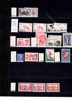 Algérie Petite Collection TP 1956/58, PA, Taxes N** N*  Cote > 200 € 5 Scans - Ongebruikt