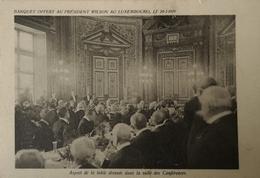 Paris // Luxembourg //  Banquet Offert Au President Wilson 20 - 01 - 1919 - Frankrijk
