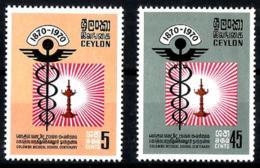 Ceylan Nº 420/21 En Nuevo - Sri Lanka (Ceilán) (1948-...)