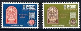 Ceylan Nº 338/39 En Nuevo - Sri Lanka (Ceilán) (1948-...)