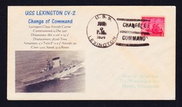 "US Navy,USS""LEXINGTON""(CV-2)1934,""PHOTO CACHET""!! LOW PRICE !! SUNK !! RARE !! Look Scan !! 13.11-37 - Boten"