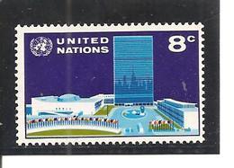 Naciones Unidas  Yvert  215 (MNH/**) - New York -  VN Hauptquartier