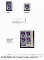 FRANCE - Blason / Armoiries De Provence - 15 F 1943 - Type, NON DENTELÉ, Coin Daté. - Unused Stamps