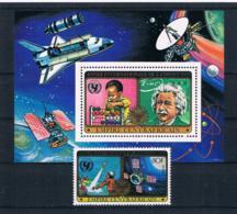 Zentralafrikanische Rep.1979 Raumfahrt Block 49 + Mi.Nr. 609 ** - Central African Republic