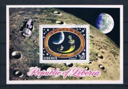 Liberia 1971 Raumfahrt Block 54 Gest. - Liberia