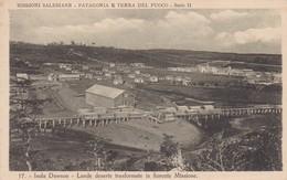 CARTOLINA - ARGENTINA - MISSIONI SALESIANE - PATAGONIAE TERRA DEL FUOCO - SERIE II - ISOLA DAWSON LANDE DESERTE - Argentina