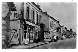 27 - LA BONNEVILLE - Hôtel De La Poste - Rue J.-Maréchal - CPSM - France