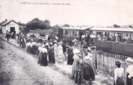 44 - Loire Atlantique - PREFAILLES - Arrivee Du Train - Préfailles