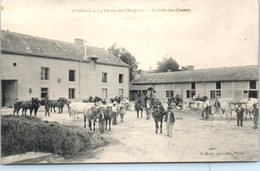 51 - PRUNAY --  La Ferrme Des Marquises - Rentrée Des Champs - France