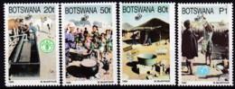 Botswana 1995, 582/85, 50 Jahre Vereinten Nationen (UNO). MNH ** - Botswana (1966-...)