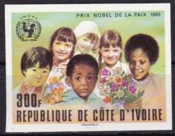 Elfenbeinküste,1978, 1141, Nobelpreisträger. UNICEF, Frieden, MNH ** - Côte D'Ivoire (1960-...)