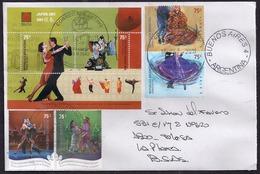 Argentina - 2011 - Lettre - Tango - Ballet - Danses Typiques - Danses - Argentina