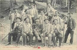 CPA 65 Hautes Pyrénées Cauterets Groupe De Guides De Montagne - Cauterets