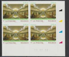 France 2010 Coin Daté La Piscine De Roubaix 467 Neuf ** MNH - Frankreich